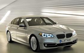 Картинка фары, BMW, автомобиль, красивый, передок, Sedan, 535i