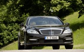Обои Benz, Mercedes, дороги, фото, авто, S63 AMG, дорога