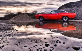 Картинка Dodge, Challenger, American Muscle Cars
