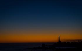 Картинка ночь, фото, пейзажи, вечер, маяки