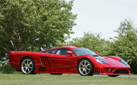 Картинка суперкар, saleen, салин, twin turbo, red, красный