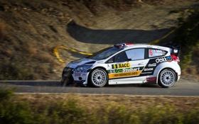 Обои Ford, Машина, Скорость, WRC, Rally, Ралли, Fiesta
