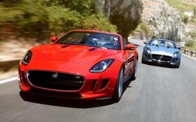 Обои Скорость, Ягуар, Desktop, Машины, Car, Автомобиль, Beautiful