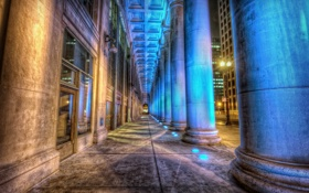 Обои United States, Chicago, Union Station