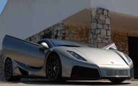 Картинка машина, двери, supercar, GTA, Spano
