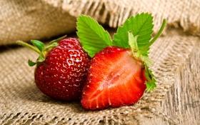 Обои клубника, fresh berries, strawberry, ягоды