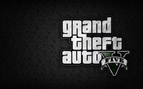 Обои grand theft auto, gta, gta5, гоготип