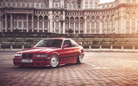 Картинка BMW, red, E36 tuning