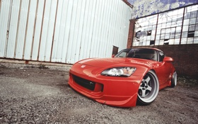 Картинка red, Honda, красная, хонда, s2000, S-Series
