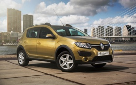Картинка Renault, рено, 2014, CIS-spec, сандеро, Sandero, Stepway