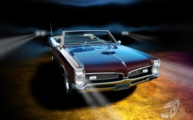 Картинка Pontiac, GTO, 1967