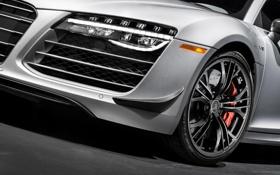 Обои Audi, ауди, фара, колесо, суперкар, бампер, 2014