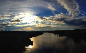 Обои река, Ока, Калуга, Kaluga, Oka