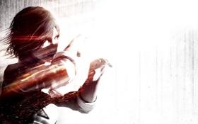 Обои Julie Kidman, Джули Кидман, детектив, девушка, The Evil Within, Tango Gameworks, волосы
