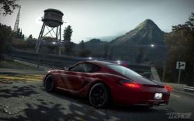 Картинка город, Porsche, гонки, Need for Speed world