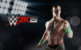 Картинка лучи, лого, logo, 2K Games, Джон Сина, John Cena, Рестлер