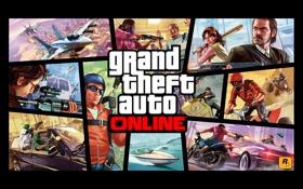 Обои online, multiplayer, gta, Grand Theft Auto V, samp