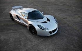 Картинка тачка, суперкар, ракурс, передок, Hennessey, Venom GT