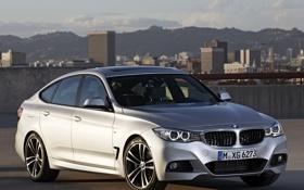 Обои машина, бмв, BMW, 335i, передок, Gran Turismo, M Sports Package