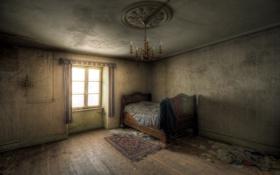 Обои комната, интерьер, спальня