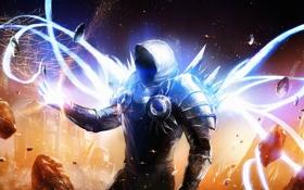 Обои фантастика, игра, РПГ, game, архангел, Diablo 3, Диабло