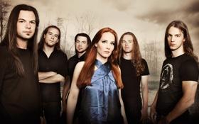 Обои группа, metal, метал, gothic, band, sympho, epica