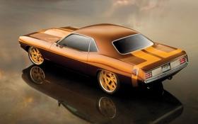 Обои авто, Plymouth, Barracuda, 1970, машина, car
