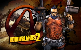 Обои ирокез, RPG, 2K Games, Borderlands 2, Gunzerker, Gearbox Software, Unreal Engine 3