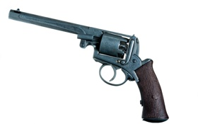Картинка оружие, фон, револвер