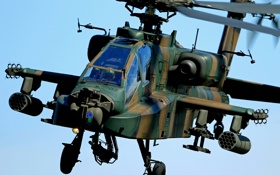 Картинка вертолёт, Apache, ударный, AH-64, основной, «Апач»