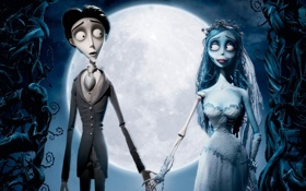 Обои невеста, куклы, кости, мертвая