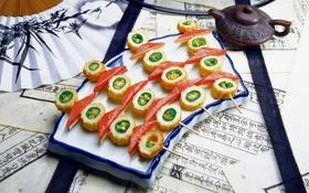 Картинка еда, суши, роллы