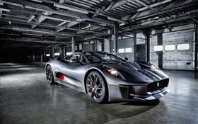 Обои фары, Jaguar, ягуар, Hybrid, передок, гибрид, C-X75