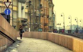 Обои Дома, Питер, Набережная, Санкт-Петербург, Здания, Россия, Russia