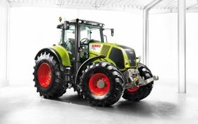 Обои Трактор, CLAAS, Axion 850