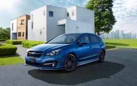 Обои Subaru, Impreza, Hybrid, субару, Sport, 2015