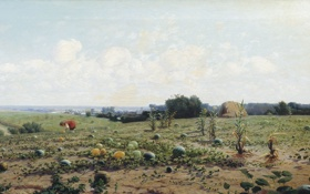 Обои картина, Крачковский, Бахча