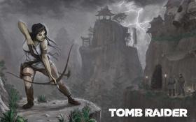 Обои арт, концепт, Tomb Raider, лара крофт