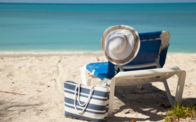 Обои песок, море, пляж, лето, отдых, summer, beach
