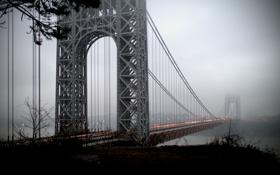 Картинка United States, New Jersey, George Washington Bridge, Fort Lee