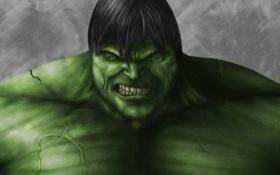 Обои гнев, зеленый, злой, Невероятный Халк, The Incredible Hulk