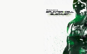 Картинка игра, герой, стелс, ubisoft, sam fisher, Splinter Cell Blacklist