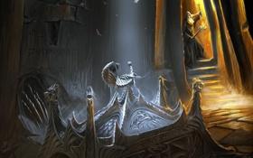 Картинка артефакт, старик, skyrim, скайрим, The Elder Scrolls