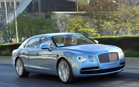 Обои авто, Bentley, седан, бентли, люкс, 2013, Flying Spur