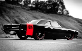 Обои cars, auto, muscle car, Plymouth, Hemi, Road Runner