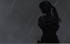 Обои девушка, фон, игра, Tomb Raider