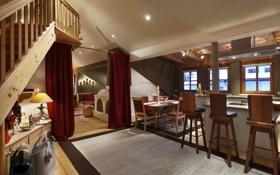 Обои дизайн, дом, стиль, интерьер, жилое пространство