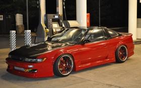 Обои Silvia, Nissan, 240SX