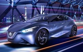 Обои Friend-ME, Ниссан, концепт, Nissan, Concept