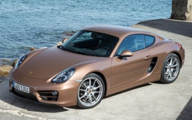 Картинка Cayman, порше, 2013, Porsche, кайман